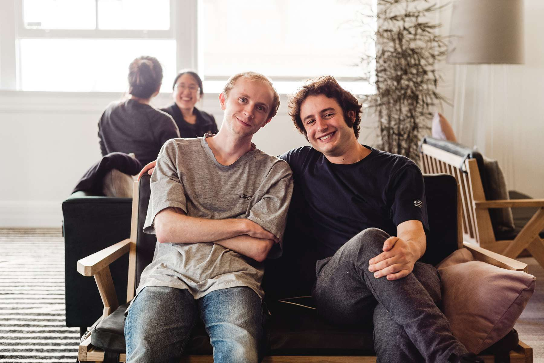 Figma's founders Dylan Field and Evan Wallace
