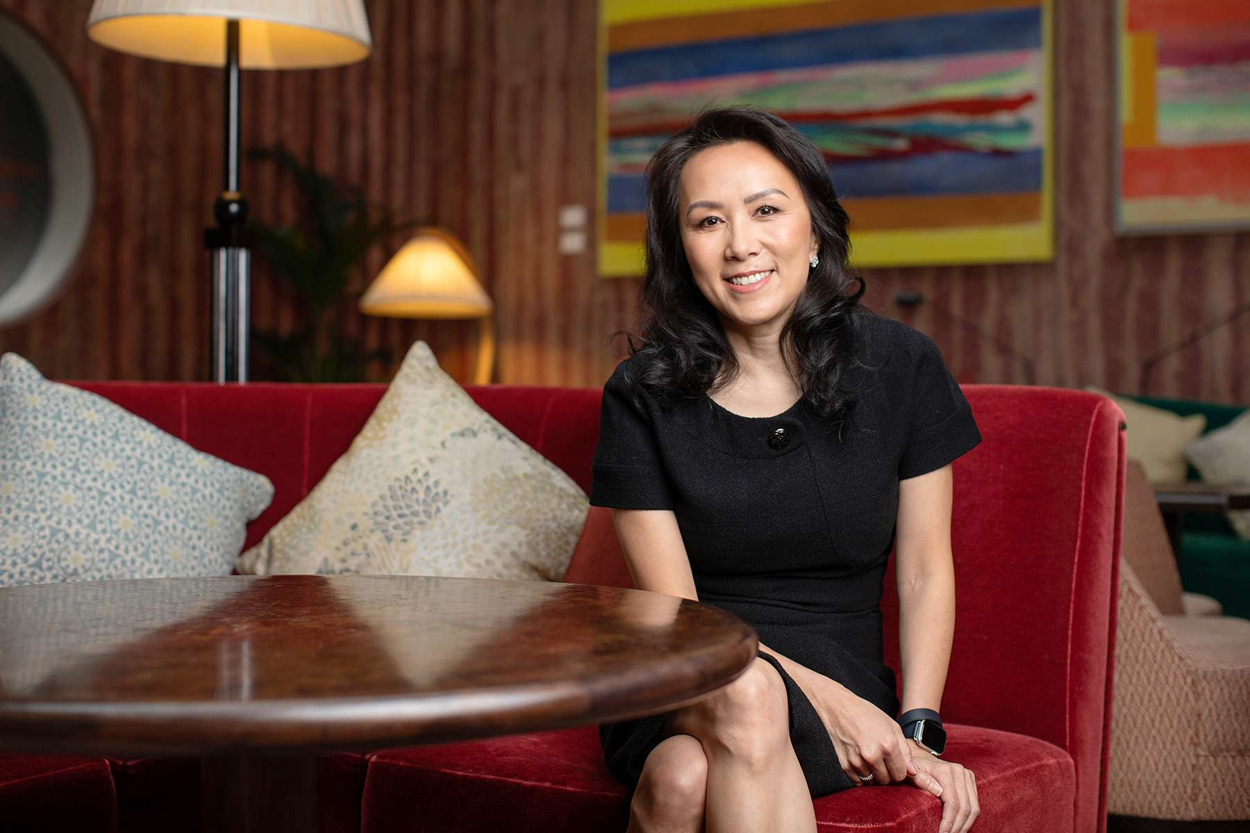 Adrianna Ma is the new chief operating officer of Index Ventures. Photo taken by Anna Gordon at the Royal Academy of Arts.