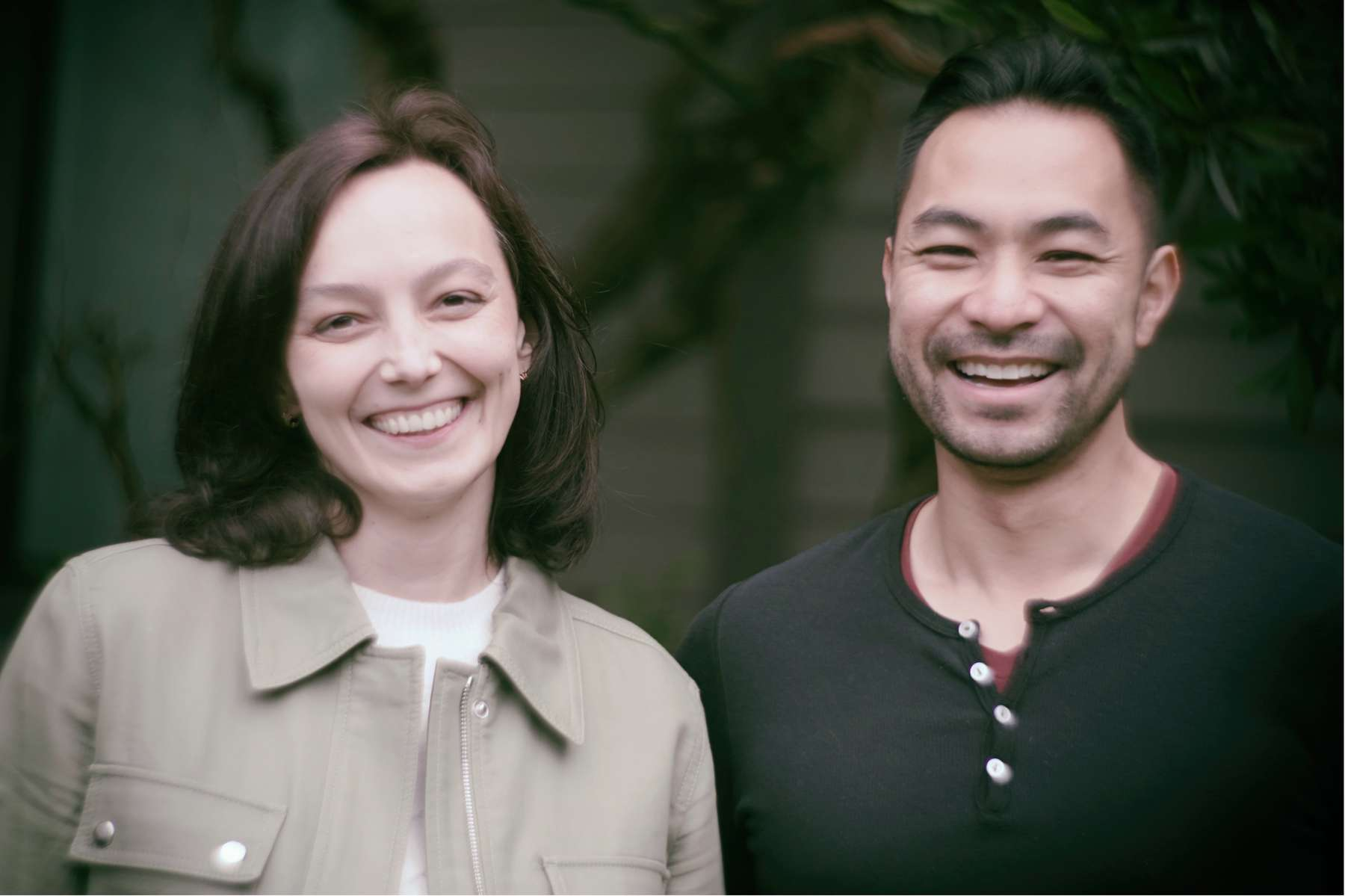 Sanlo co-founders Olya Sivers (left) & William Liu (right)