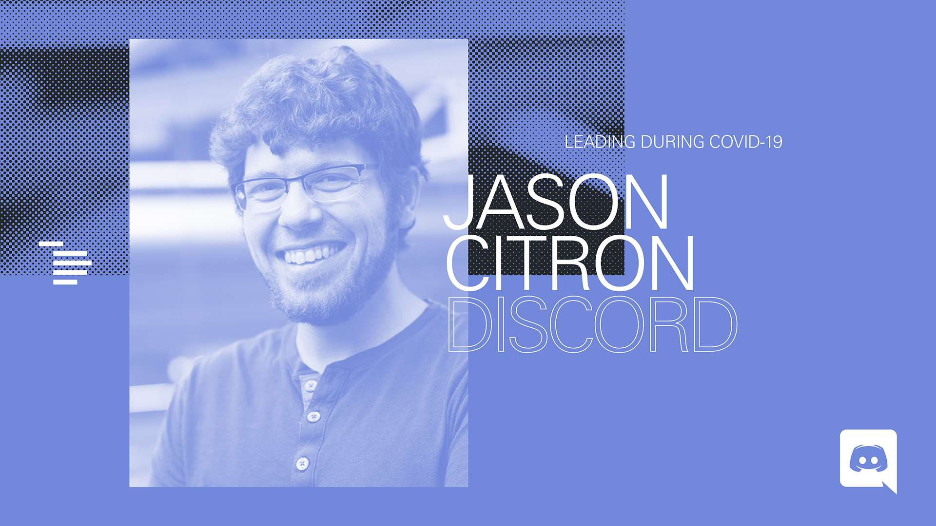 Creating Belonging & Community: Discord's Jason Citron on Leading During  COVID-19 | Index Ventures