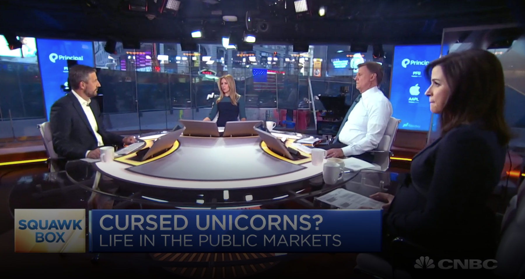 Mike Volpi on CNBC's Squawk Box.