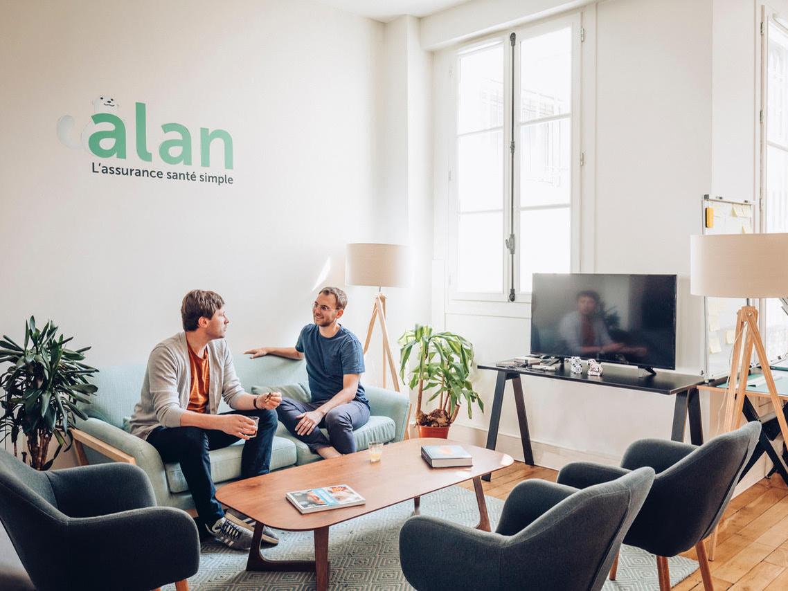 Alan's office in Paris