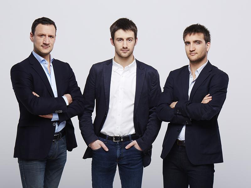 Alkemics co-founders Benoit Portoleau, Antoine Durieux and Antoine Perrin