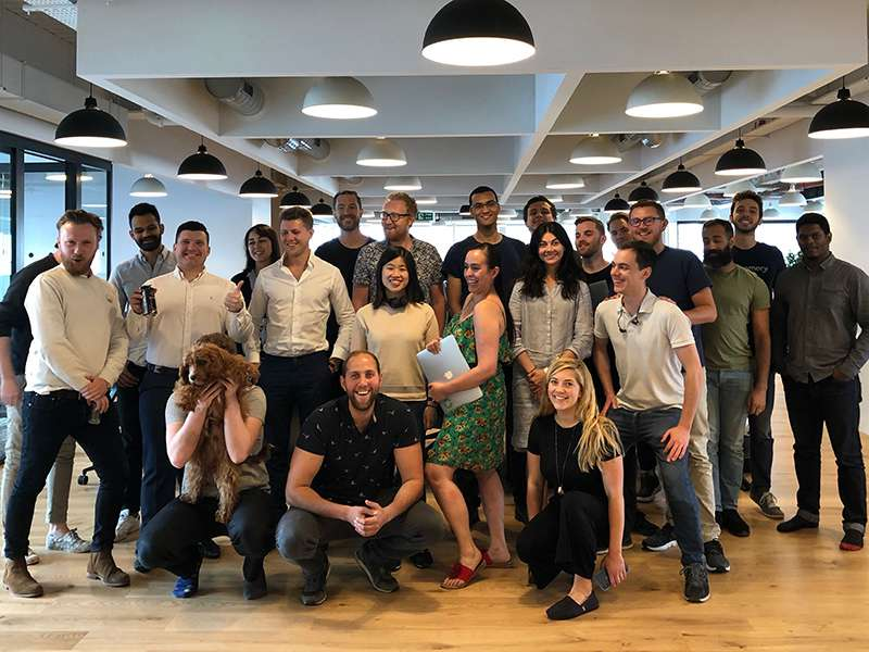 The Beamery team at its London HQ