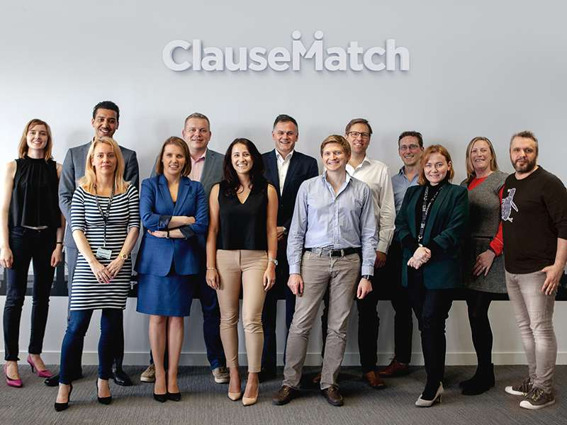 ClauseMatch team at its London HQ