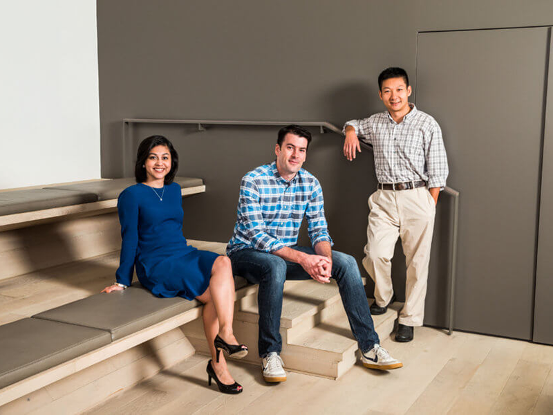 Confluent co-founders Neha Narkhede, Jay Kreps and Jun Rao