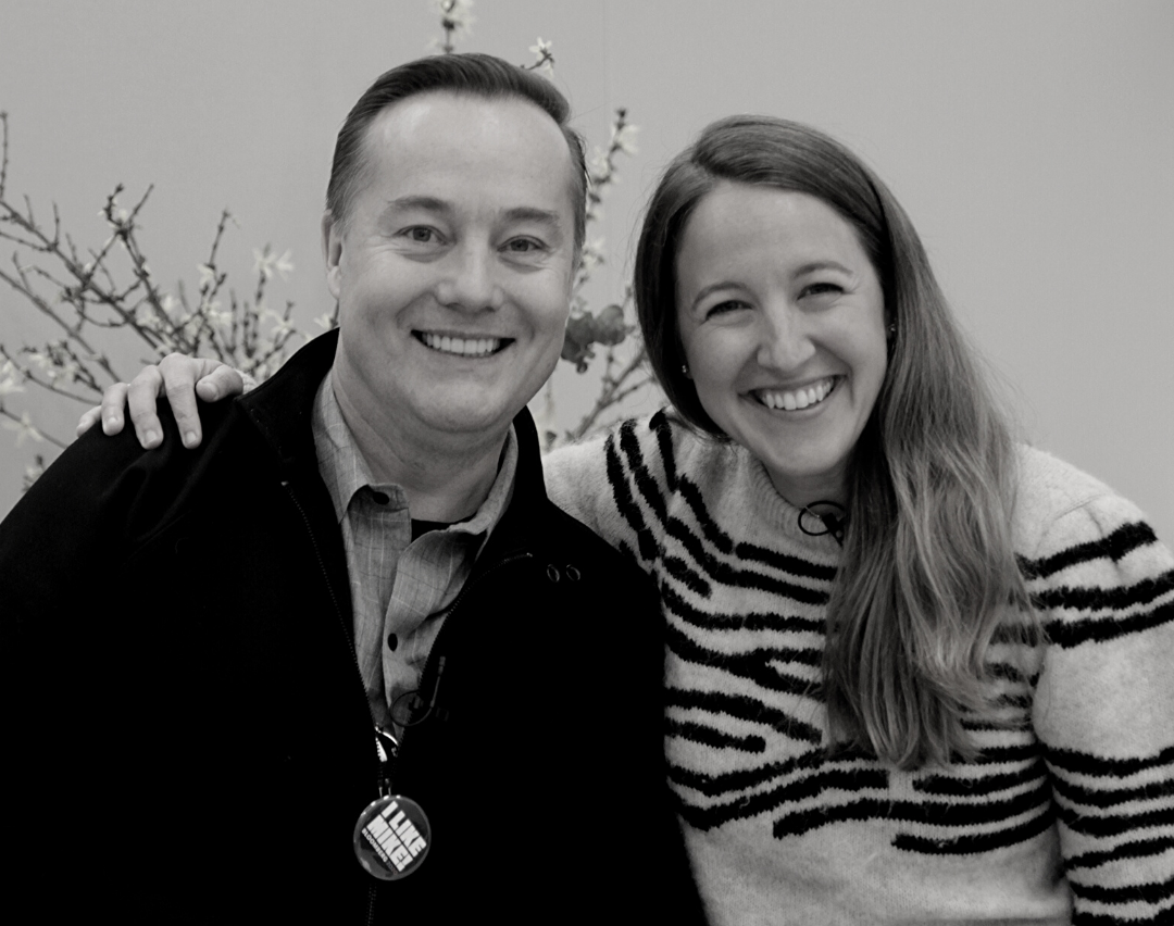 Jason Calacanis with Sarah Cannon