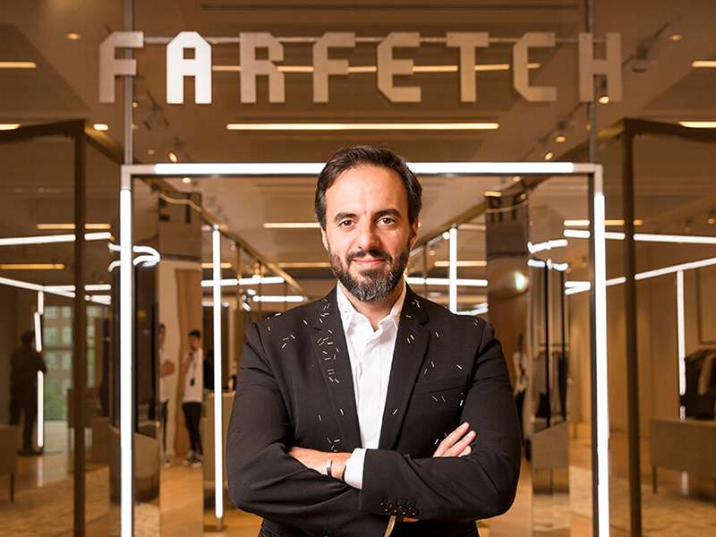 CEO and founder of Farfetch José Neves