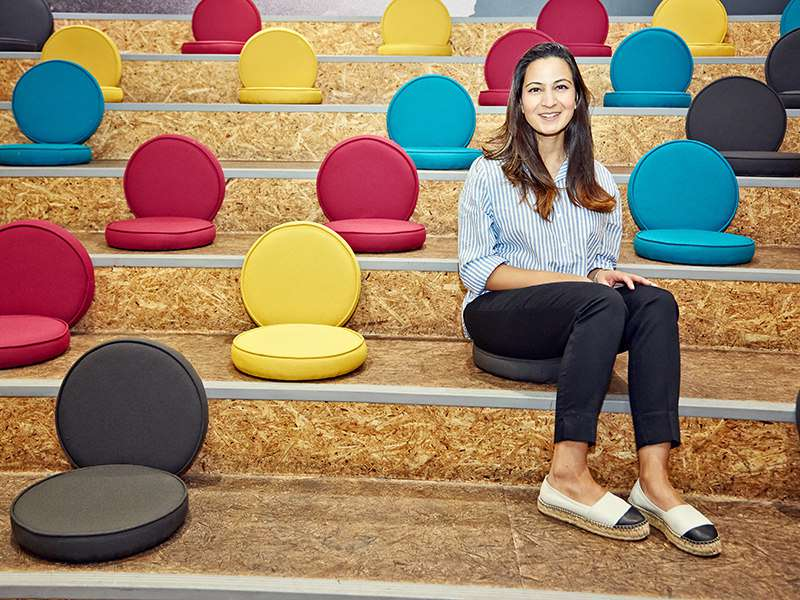 Layla Kidwai, director of global talent acquisition