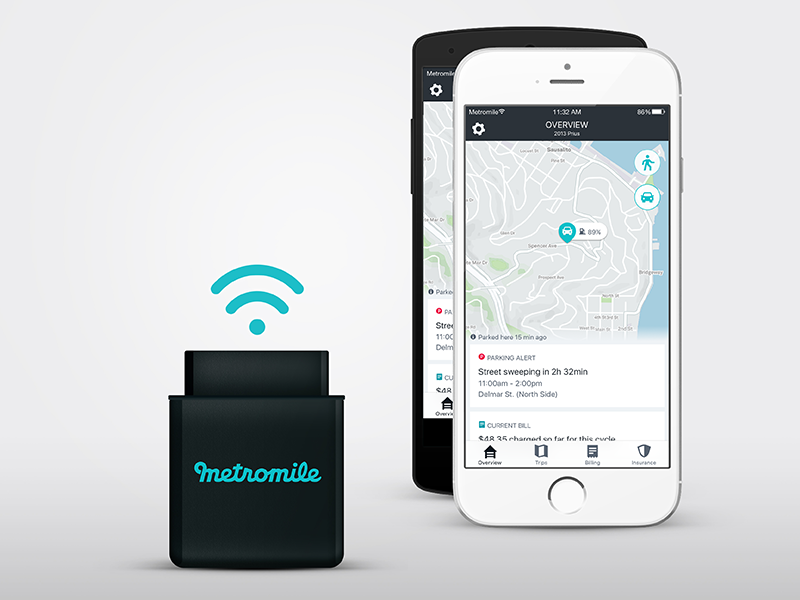 Metromile is revolutionizing car insurance through technology with its pay-per-mile insurance model.