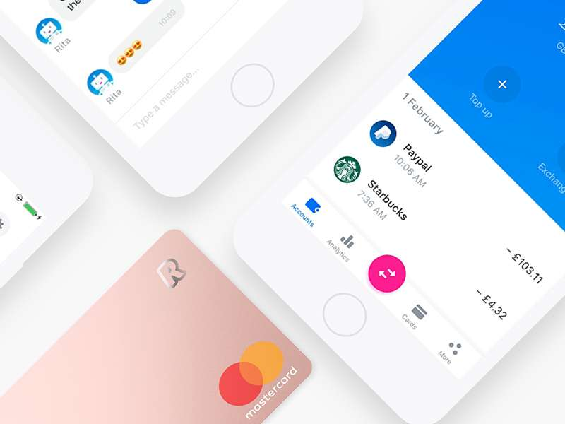 Revolut raises $250 million and increases valuation 5x in a year to $1.7 billion.
