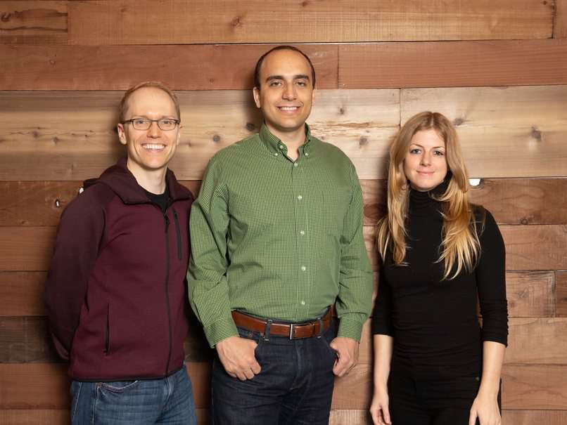 Pilot's Co-founders (From Left to Right) Jeff Arnold, Waseem Daher, and Jessica McKellar