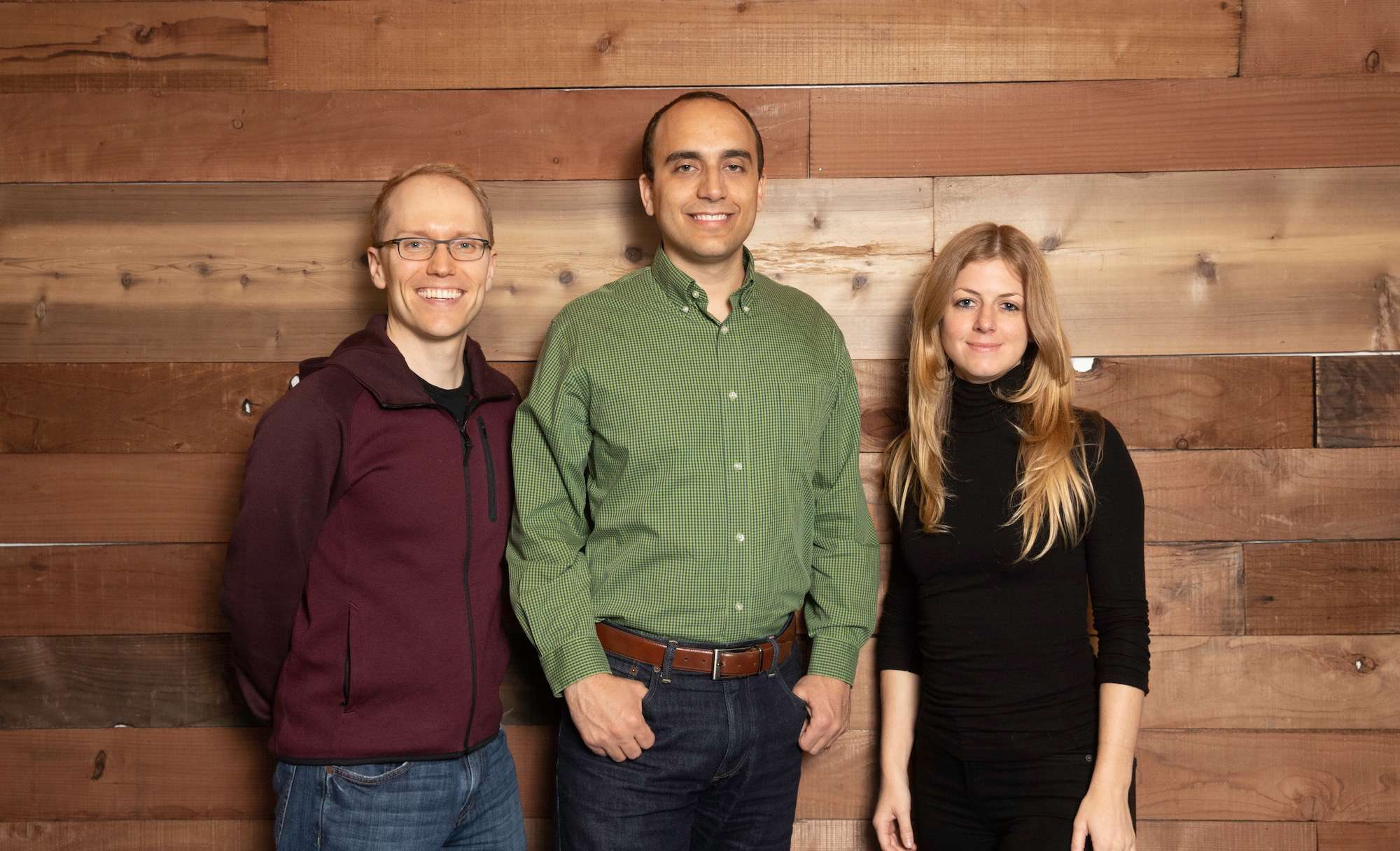 Pilot's founding team: Jeff Arnold, Waseem Daher and Jessica McKellar