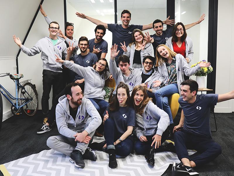 Spendesk team in Paris